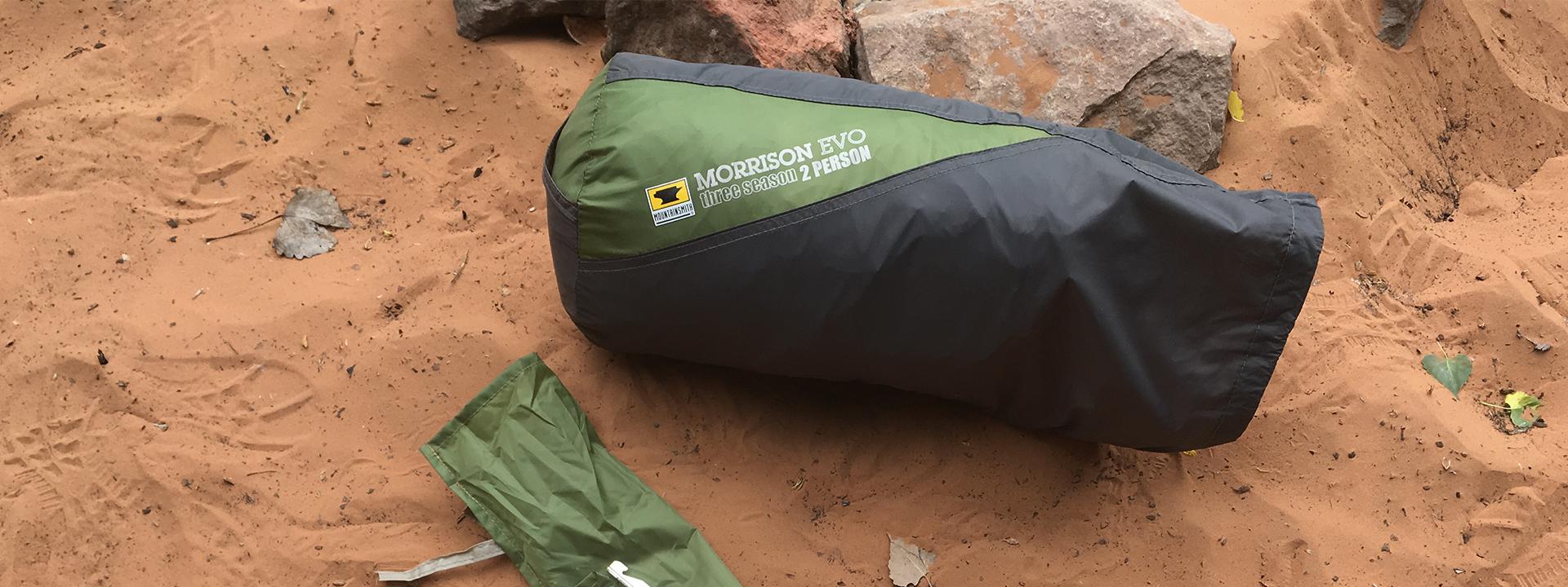 ProView u2013 Mountainsmith Morrison Evo Tent & Mountainsmith Morrison Evo Tent Review | Dirtbag Dreams Gear Reviews