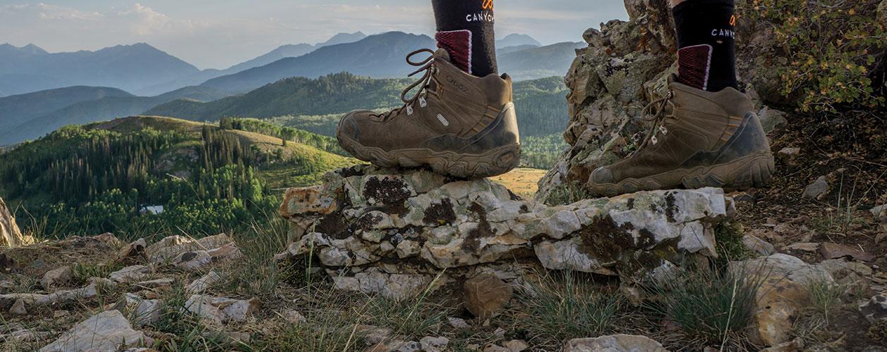 8d7b732b9bf Oboz Bridger Mid B-Dry Waterproof Hiking Boots Review - Dirtbag ...