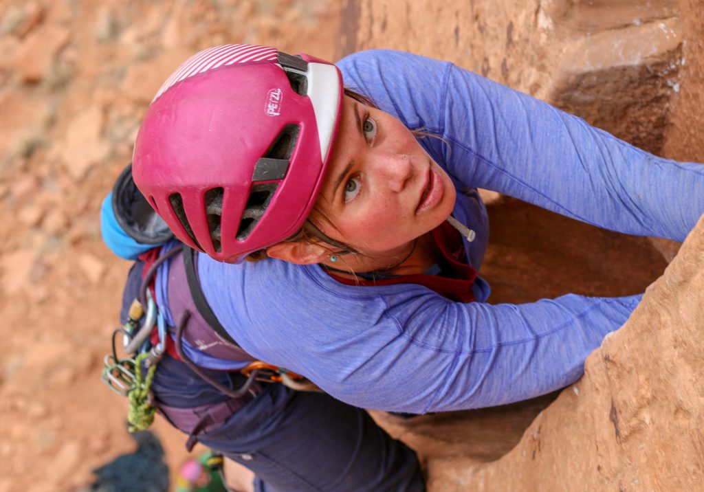 Kate Sabo on Incisor (5.11-)