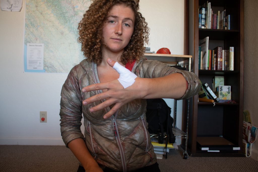 Offwidth Tape Gloves - Step 2