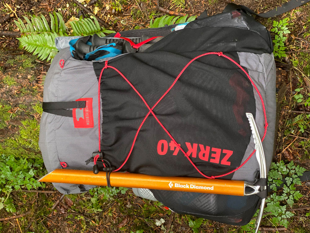 Large front pockets allow for lots of space for snacks and water.