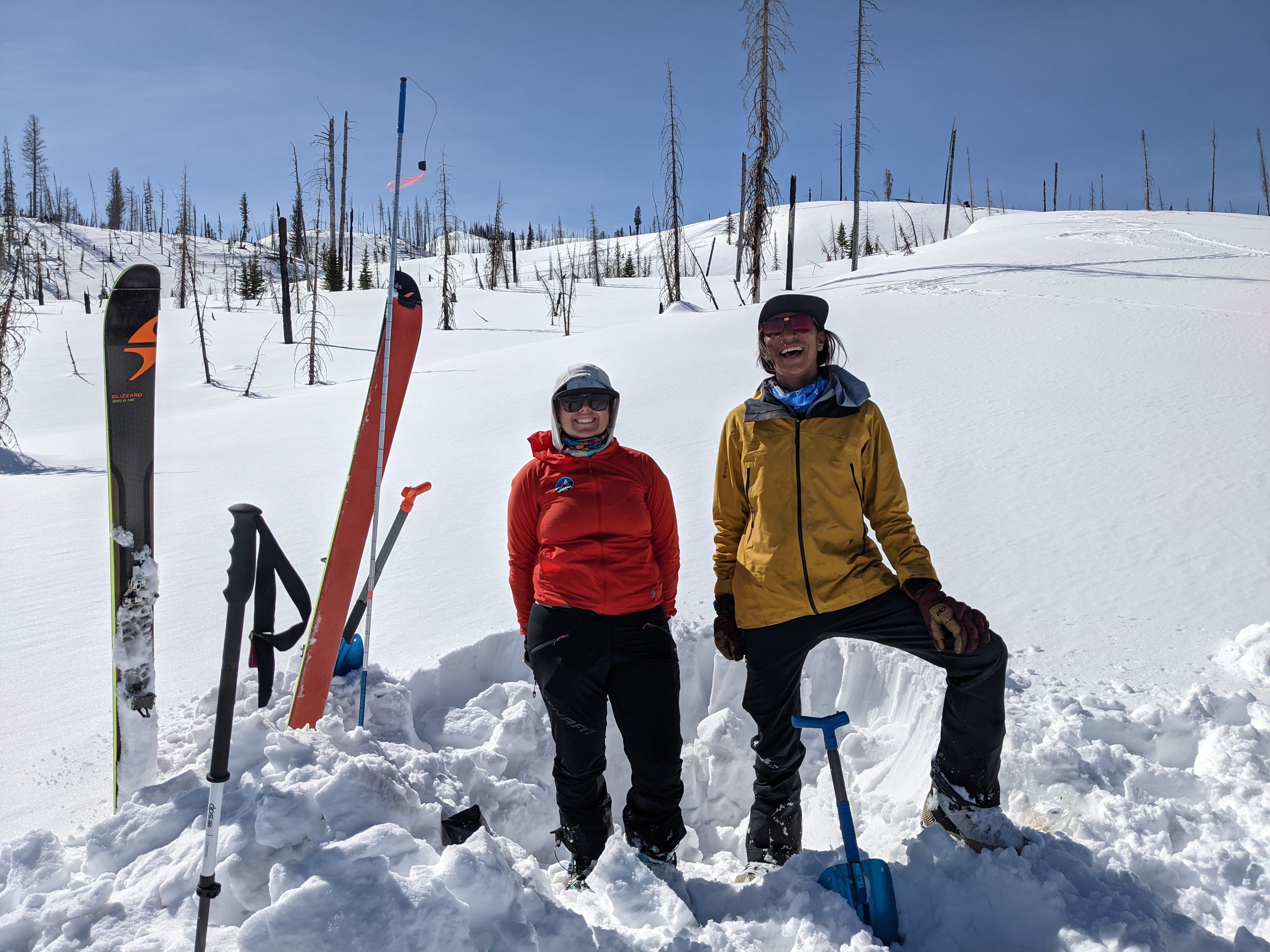 Dani Reyes-Acosta and Betsy Manero dig into creating equity in the backcountry