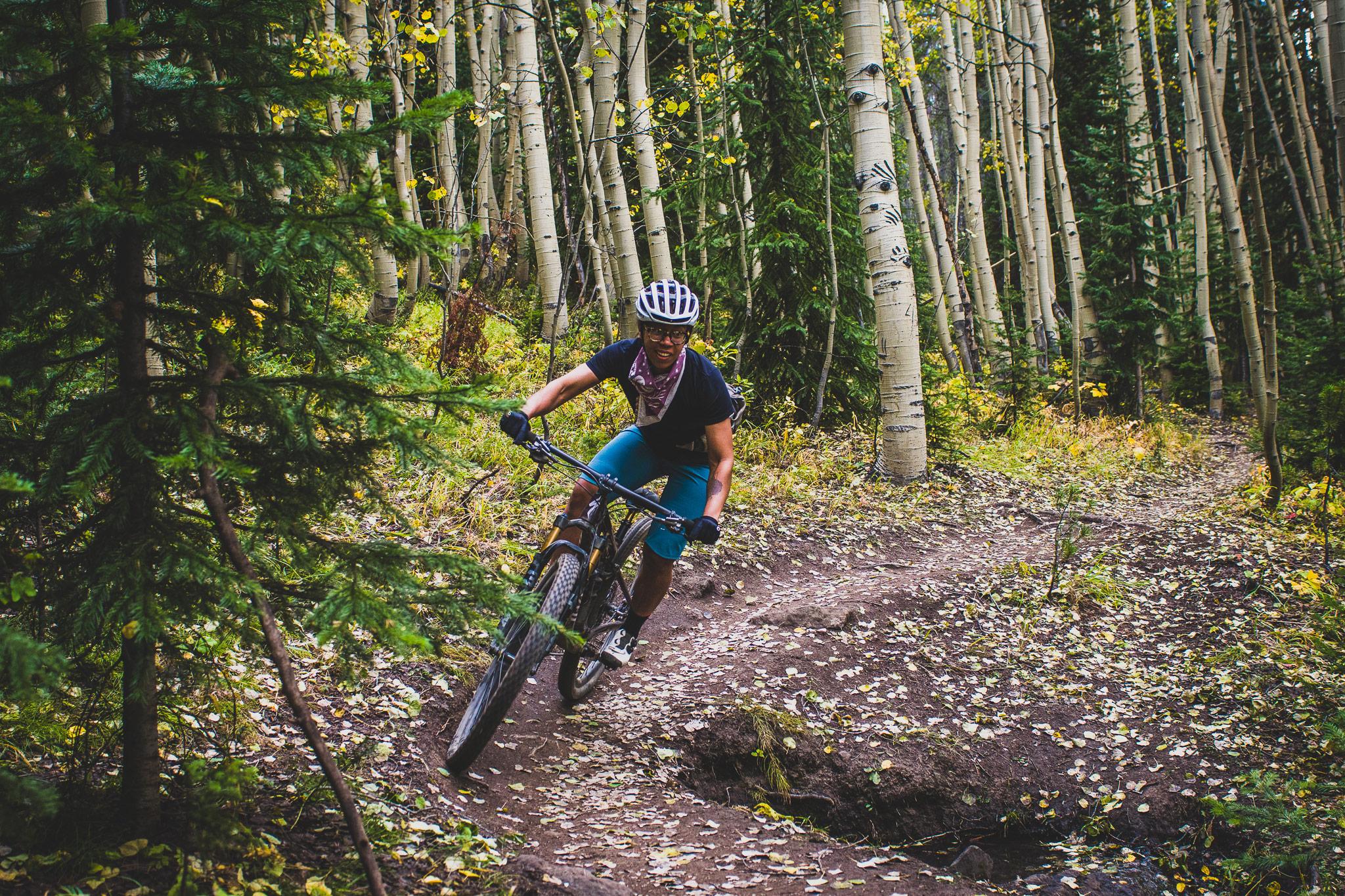 Rachel Olzer - @PedalToThePeople - Mountain Biker BIPOC