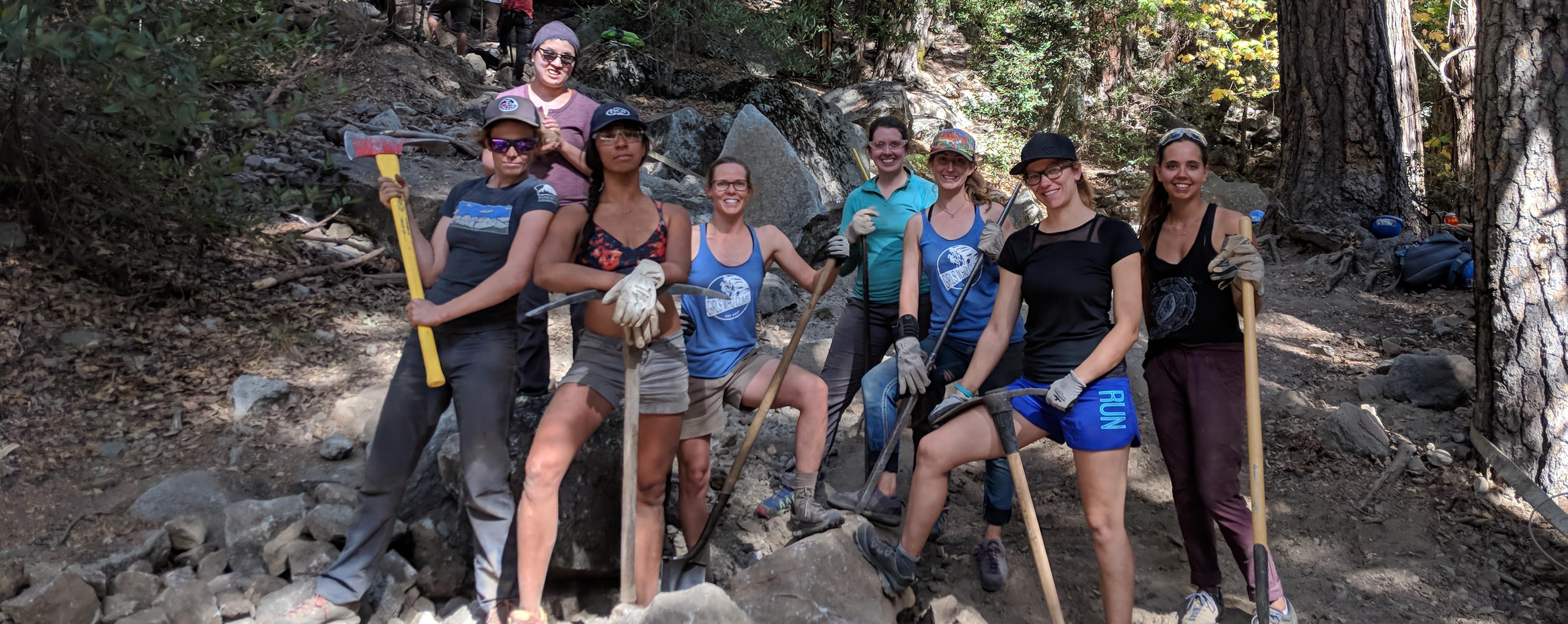 Yosemite Facelift Volunteers Pose