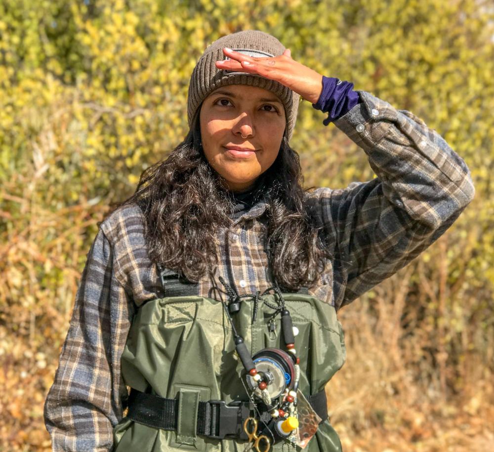 Gabaccia-Moreno-woman-flyfishing-Pueblo-Land-Photo-Roberto-Flores-Buck
