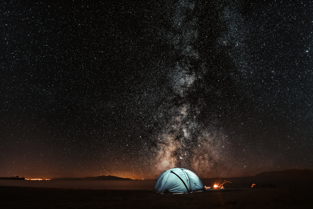 pars-sahin-V7uP-XzqX18-unsplash-camping-without-water-starry-night-photography